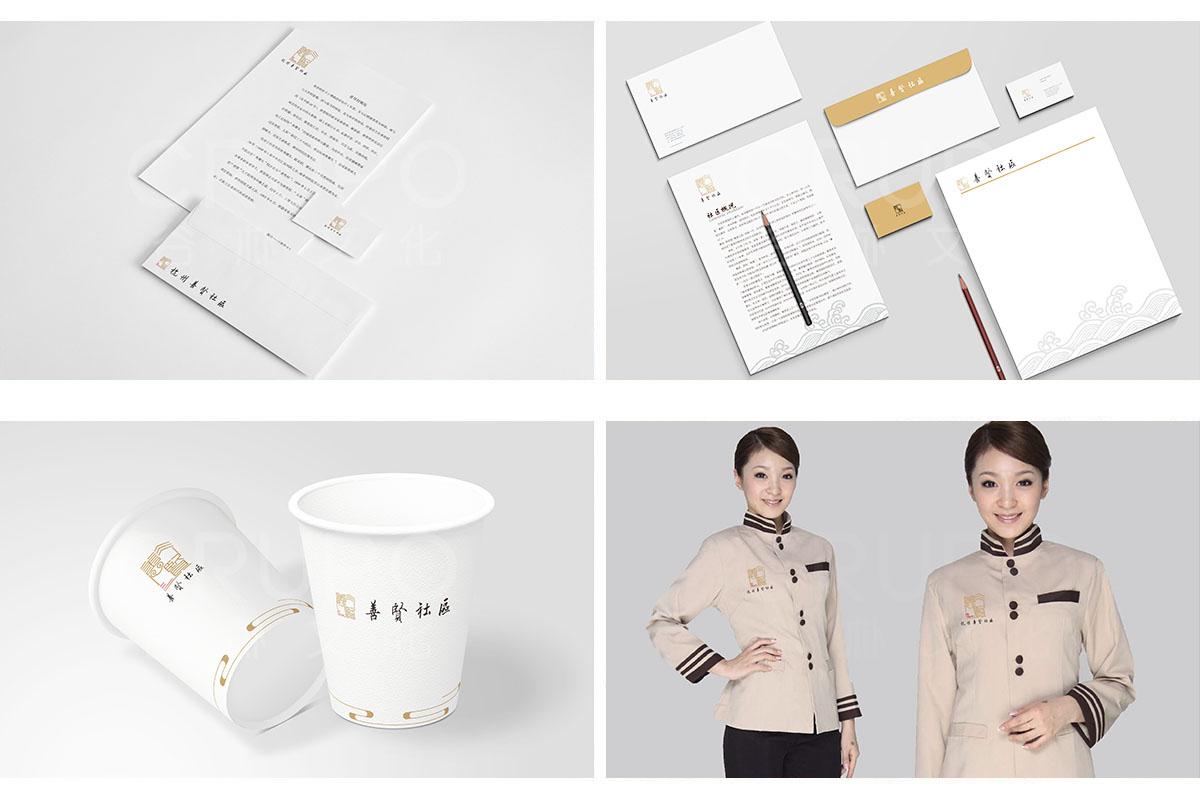 谷朴设计,智慧社区品牌VI设计